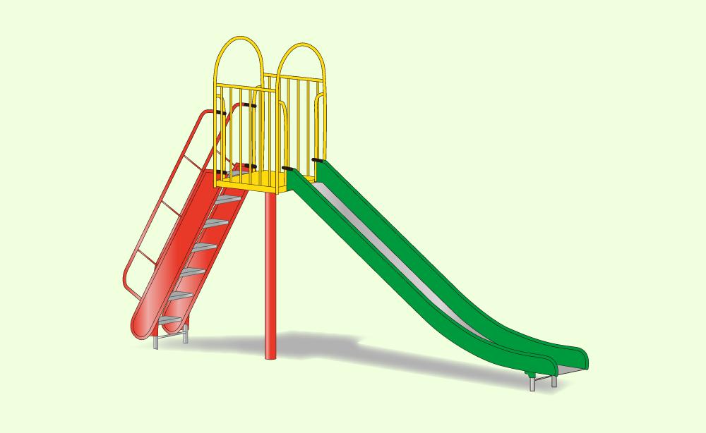 滑り台などの遊具